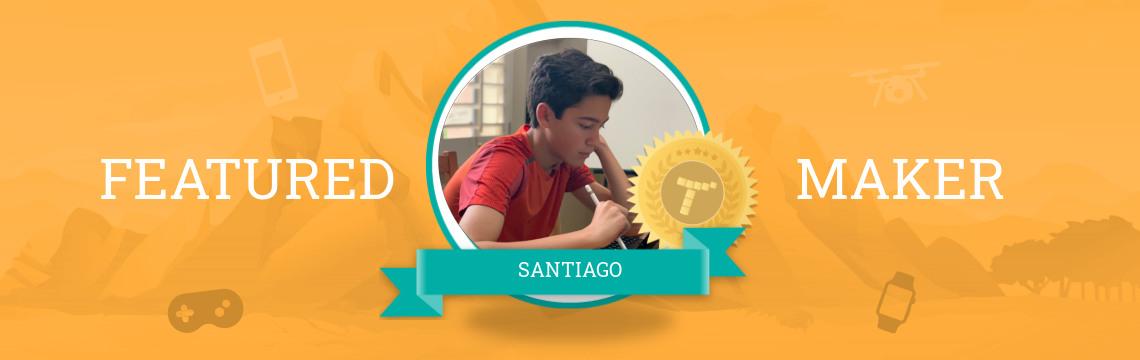 Santiago's Coding Stems from STEM!