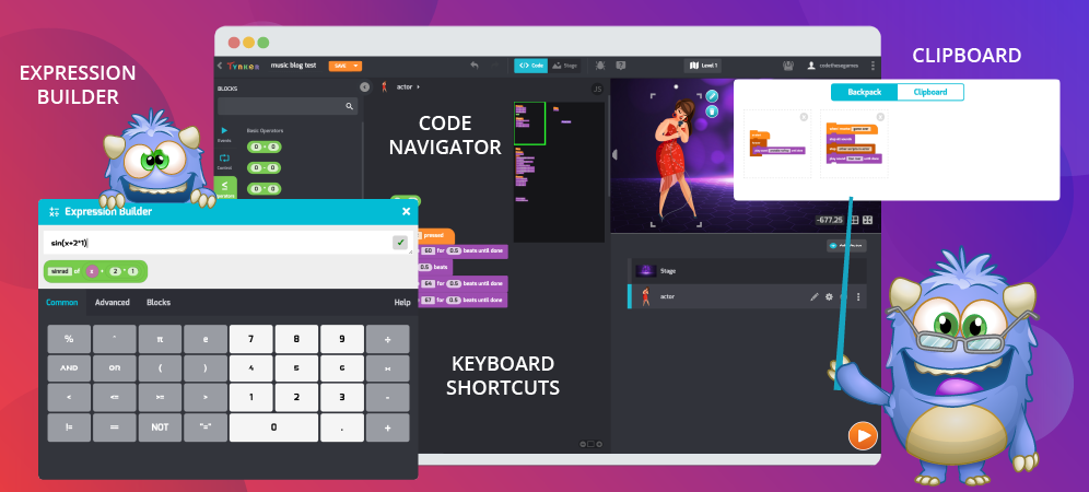 NEW! 4 Cool Editing Features Added to Tynker Workshop