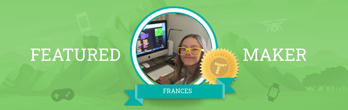 Frances Gets Creative with Code!