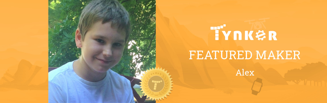 Tynker Summer Code Jam Winner: Alex Perseveres with Code