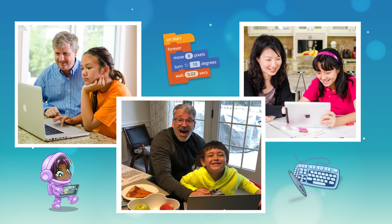 A Family That Codes Together, Creates Together!