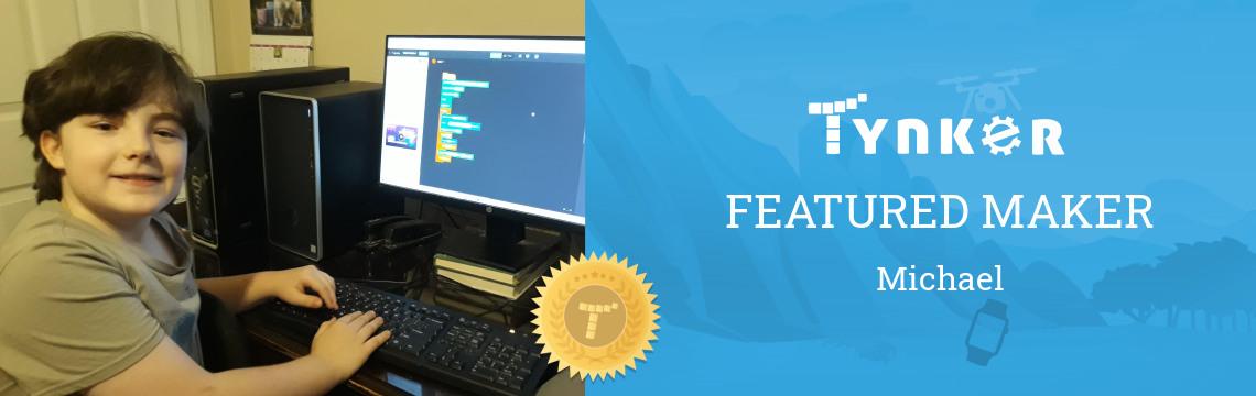 Tynker Summer Code Jam Winner: Michael the Coding Pro