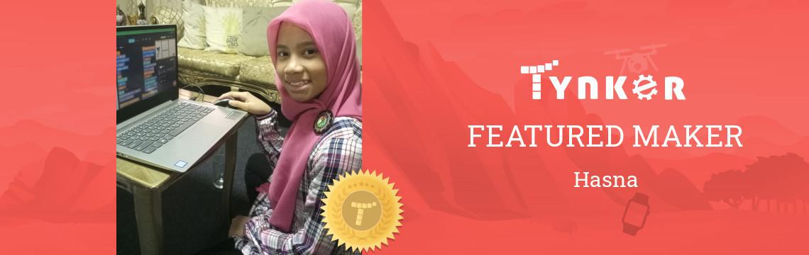 Tynker Summer Code Jam Winner: Hasna the Super Coder!