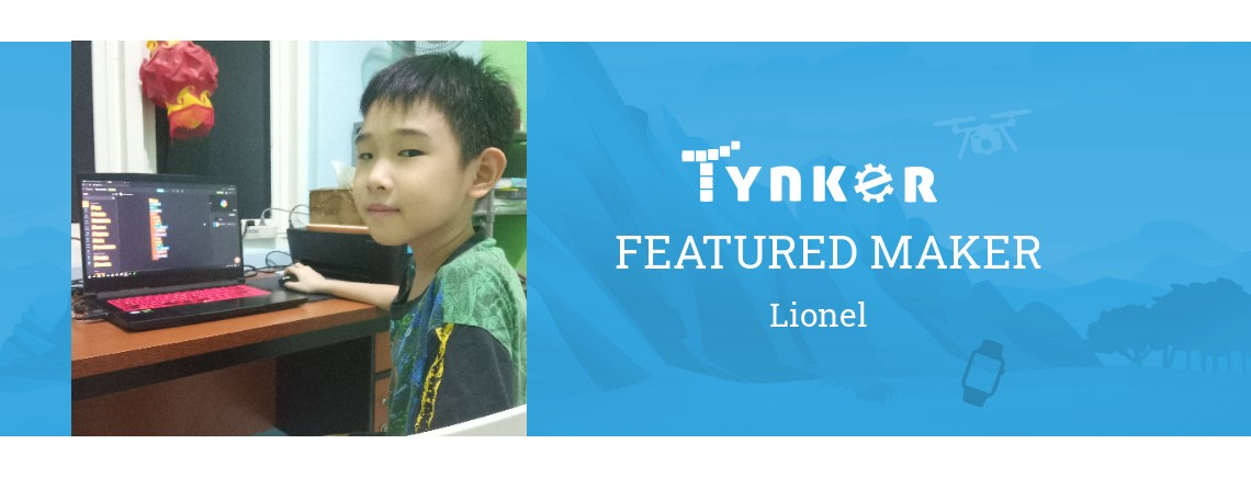 Tynker Summer Code Jam: Lionel the Coder