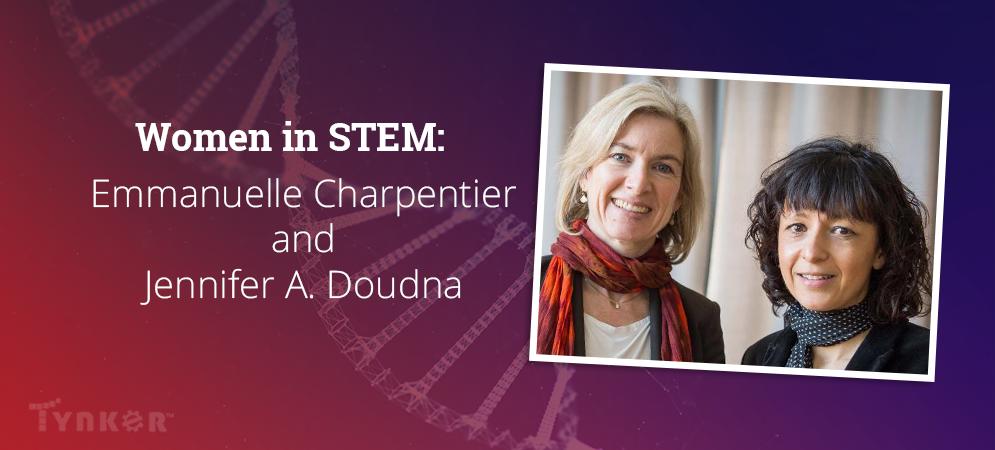 Women in STEM: Emmanuelle Charpentier and Jennifer A. Doudna