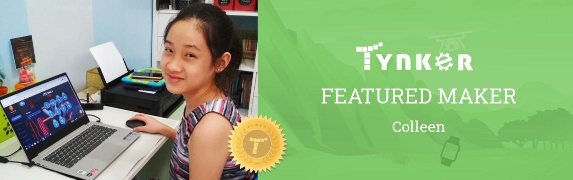 Tynker Summer Code Jam Winner: Colleen Gets Creative with Code!