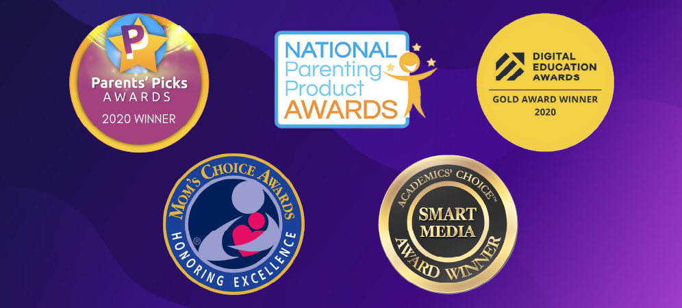 Tynker's 2020 Educational & Parenting Award Wins