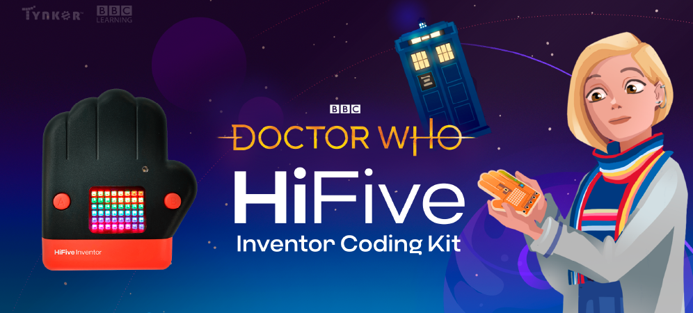The Doctor Who HiFive Inventor Coding Kit