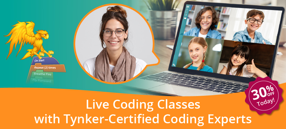 Small-Group Live Coding Classes [ New for 2021!]