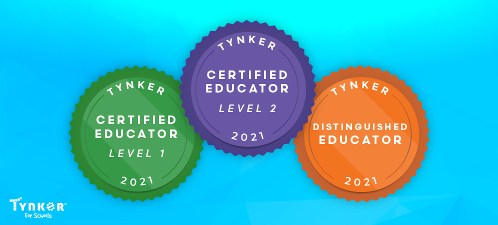 Showcase Your Expertise with our NEW Tynker Educator Certifications