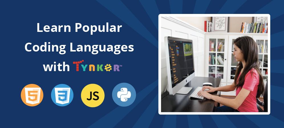Learn Python, JavaScript, HTML, and CSS!