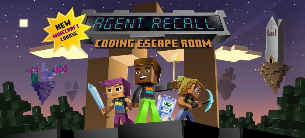 New Minecraft Course! AGENT RECALL