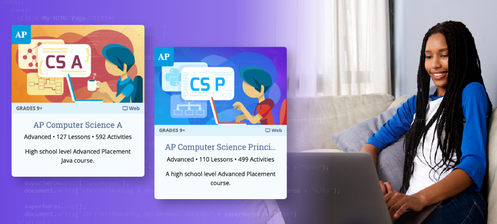 College Board Endorses Two Tynker AP® Computer Science Courses