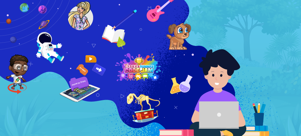 10 Great Ideas To Keep Your Child's Brain Sharp This Summer—with Code!