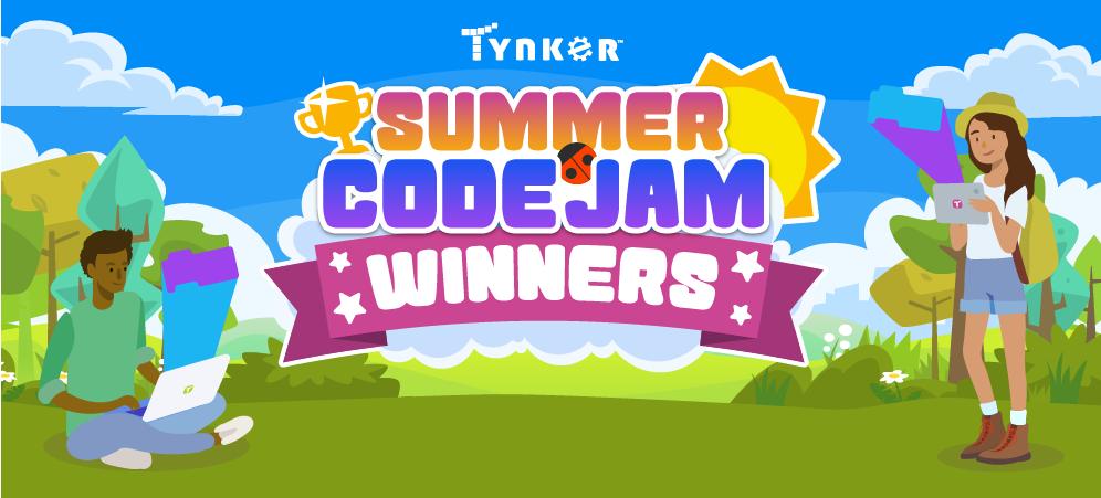 2021 Tynker Summer Code Jam – Grand Prize Winners!