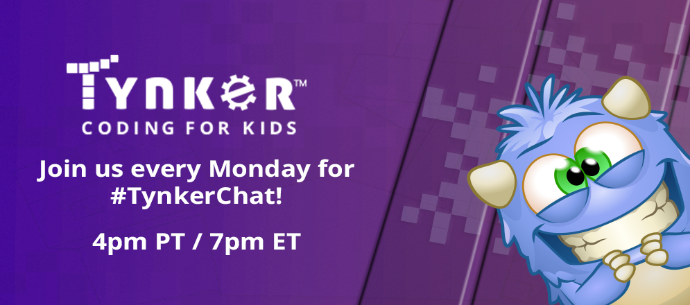 Vote on Our Next #TynkerChat Topic with Moderator Todd Burleson