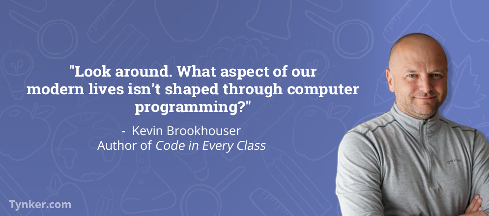 5 Questions for Kevin Brookhouser: Author, Coder, and Maker