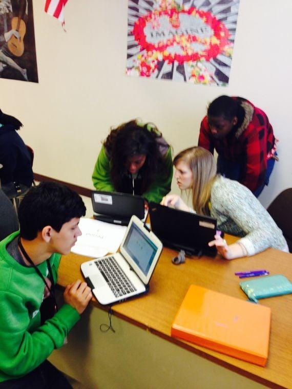 Joliet West students