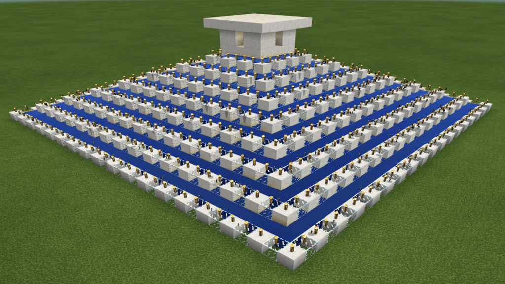 Tynker Minecraft Pyramid