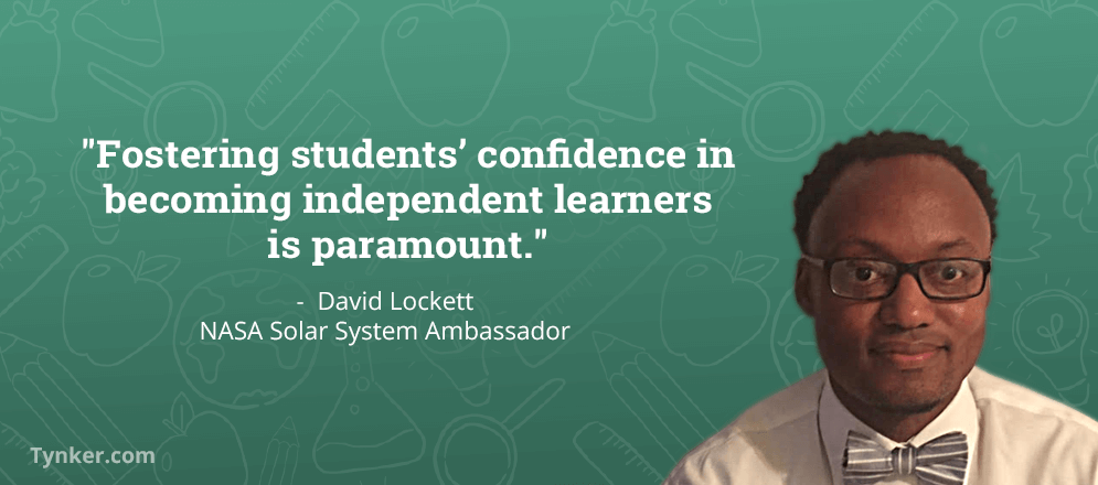 Thoughts on STEM From NASA Ambassador David Lockett