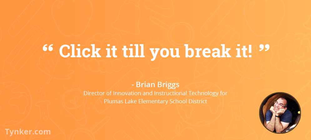 Educator Brian Briggs Puts Innovation in Motion