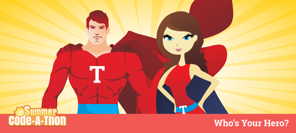 Week 9 Summer Code-A-Thon Challenge: Who's Your Hero?