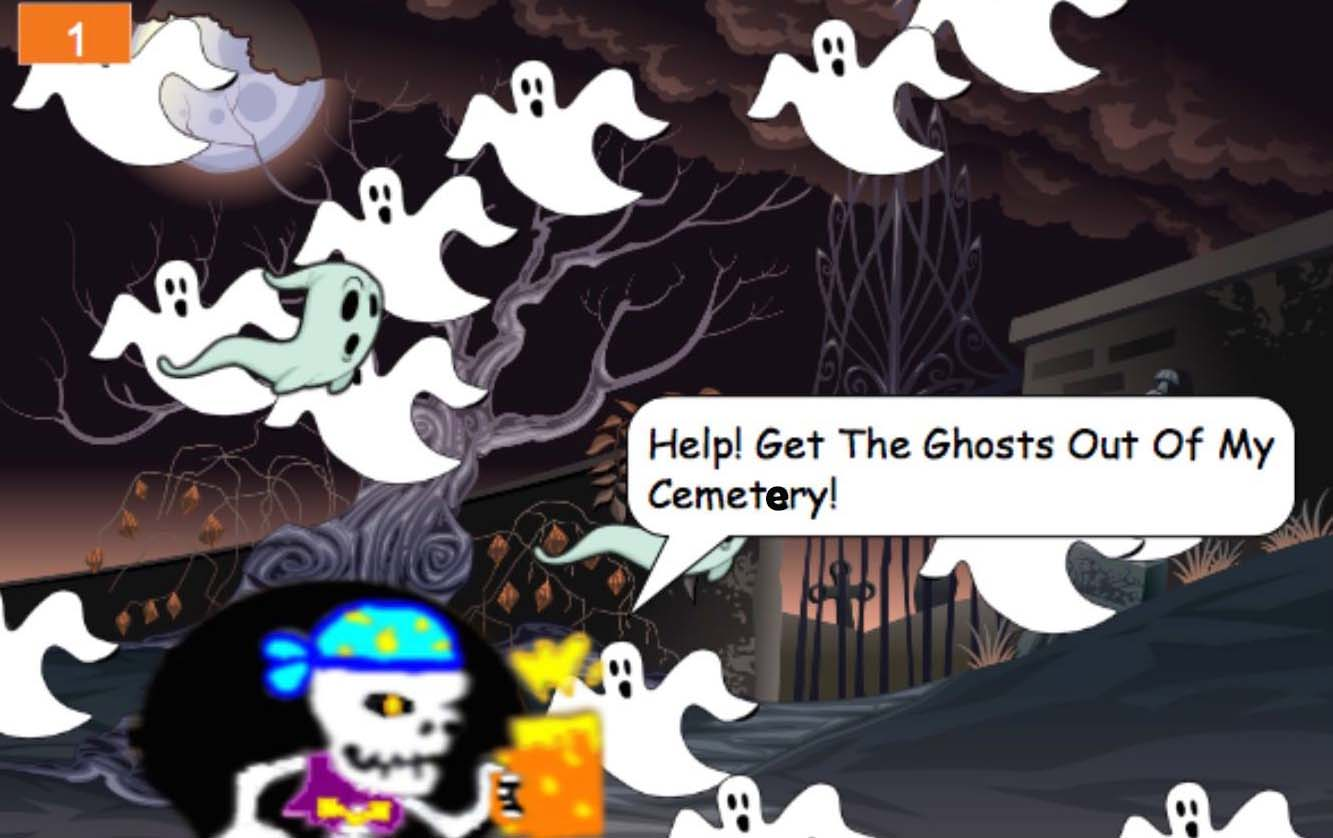 Play Halloween Games and Create With Code