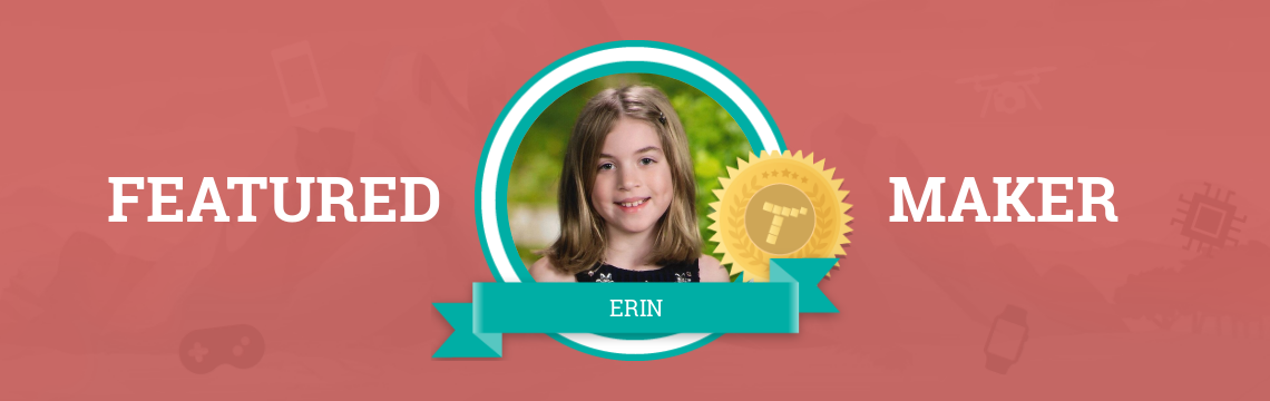 Erin Loves Bringing Her Imagination to Life!