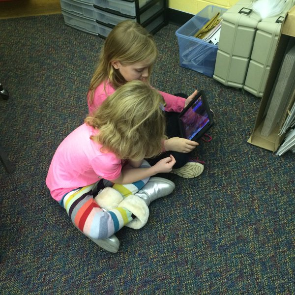 Hour of Code on Tablets