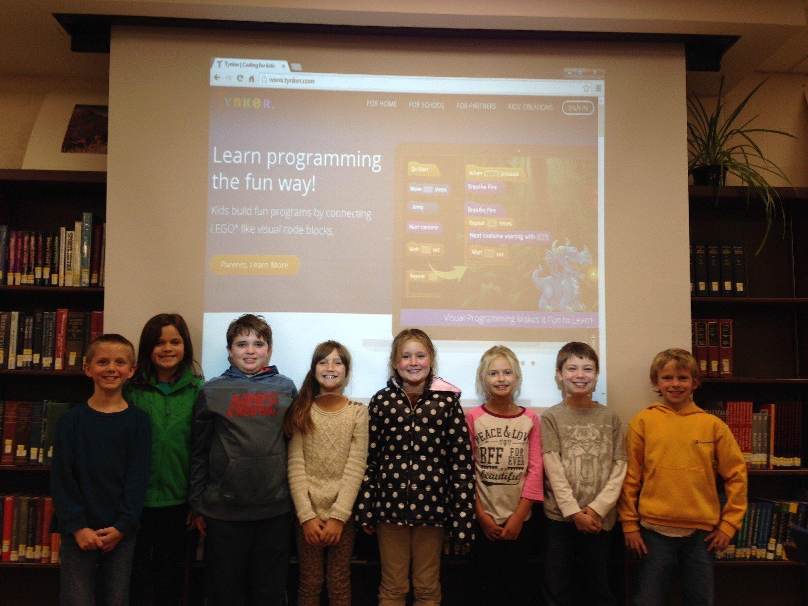 Parents Pioneer Computer Programming in School District