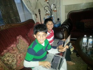 Twins Coding at Home