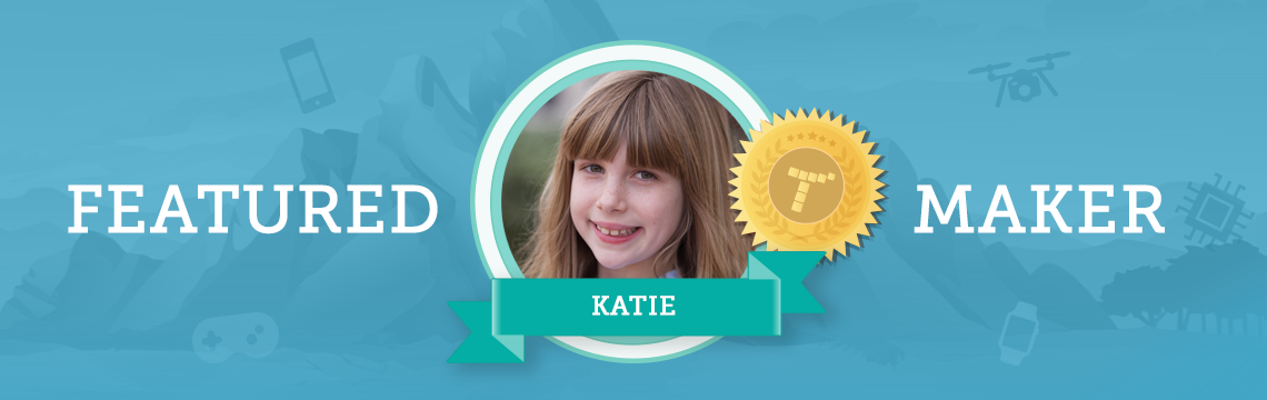 Learn how creativity queen Katie expresses herself – both on the stage and through coding!