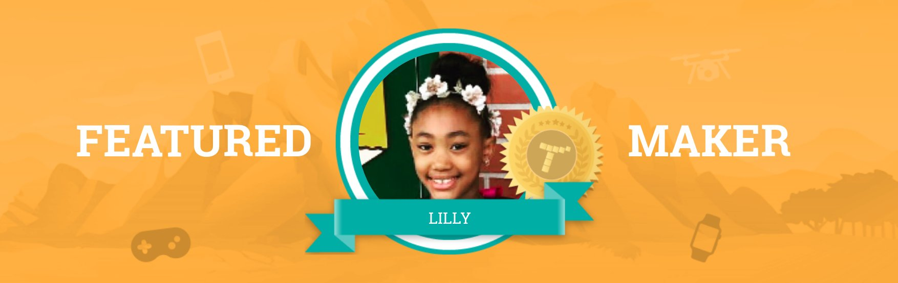 Step Into Lilly's World Through Tynker!