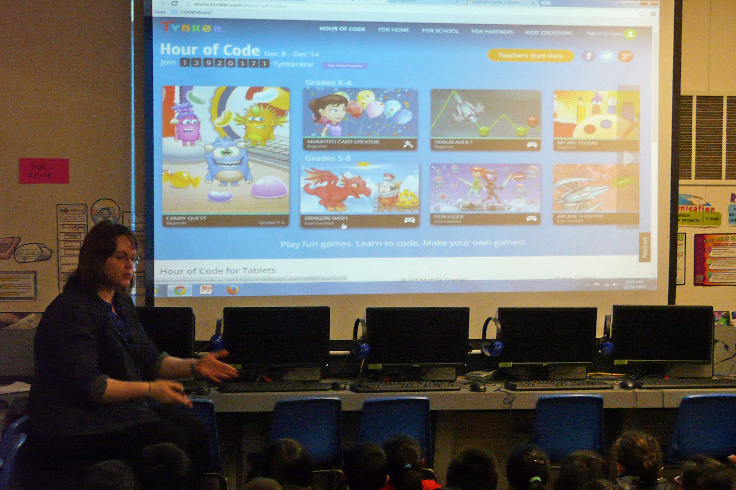 School Success with Tynker's Hour of Code