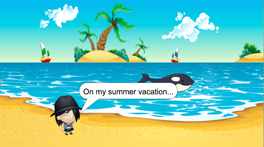 """A """"What I Did This Summer"""" Project for 21st Century Learners"""