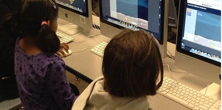 Sedgwick El Students prepping for hourofcode