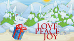 Tynker Love Peace Joy Greeting Card Pic