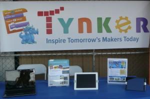 Tynker Maker Faire Booth
