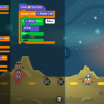 Tynker iPad App Lost in Space
