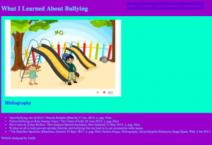 Tynker Harker Student Project - Bullying Theme