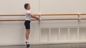 William Ballet Practice