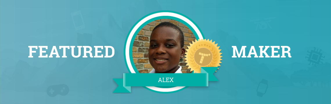 Alex's Love of Experimentation Drives His Love of Coding