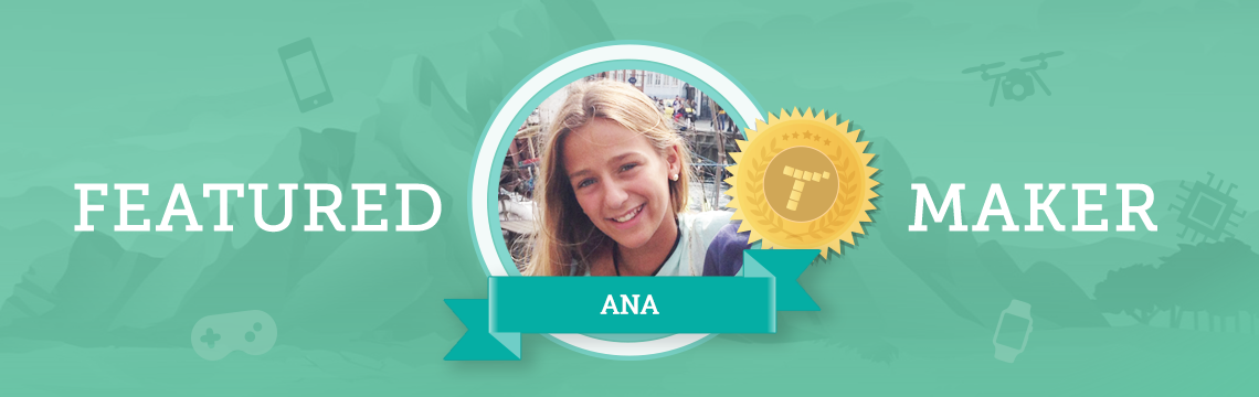 Ana, Future NASA Robot Engineer, Loves Coding with Tynker