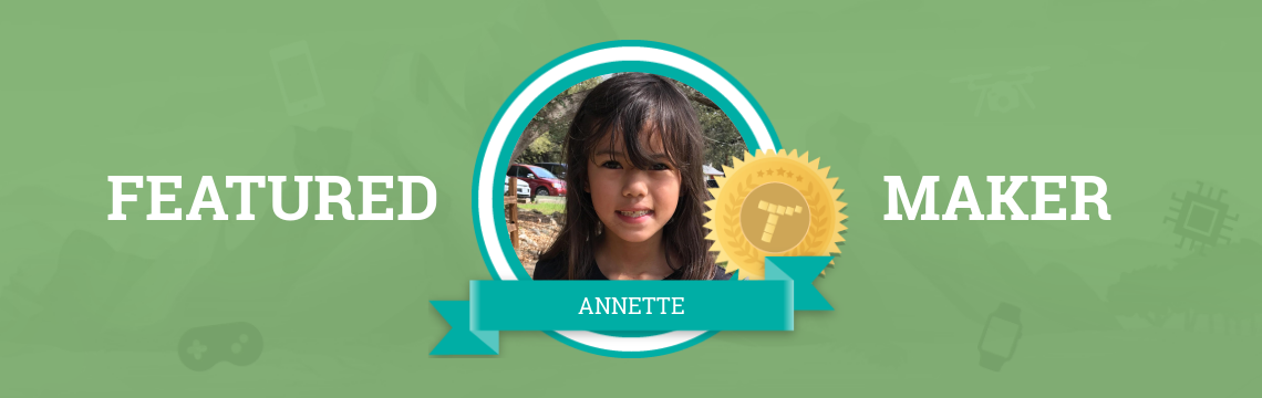 Future Veterinarian Annette Loves the Tynker Community!