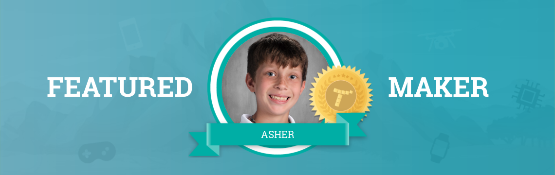 Aspiring Actor Asher Expresses Himself with Code!