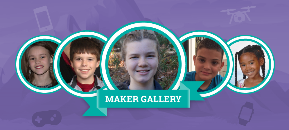 Five Kids Who Will Inspire You And The Young Makers in Your Life