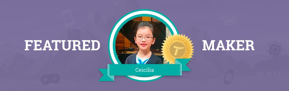 Ceicilia is Already Following Her Dreams!
