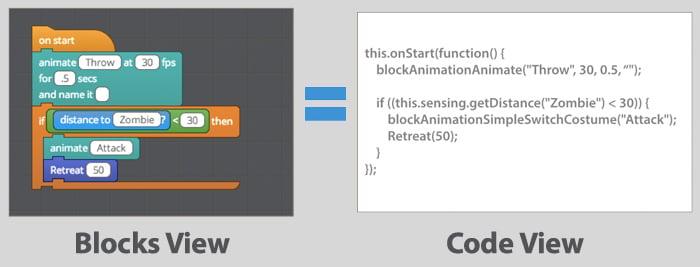 From Tynker Blocks to JavaScript!