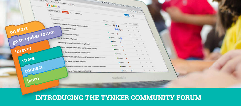 The Tynker Community Forum: Finally, a Place Where Teachers Talk Code