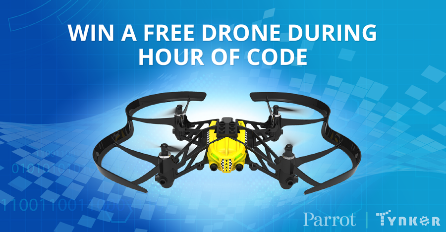 Win a Free Drone this Hour of Code!